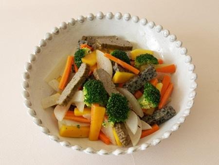 野菜炒めに