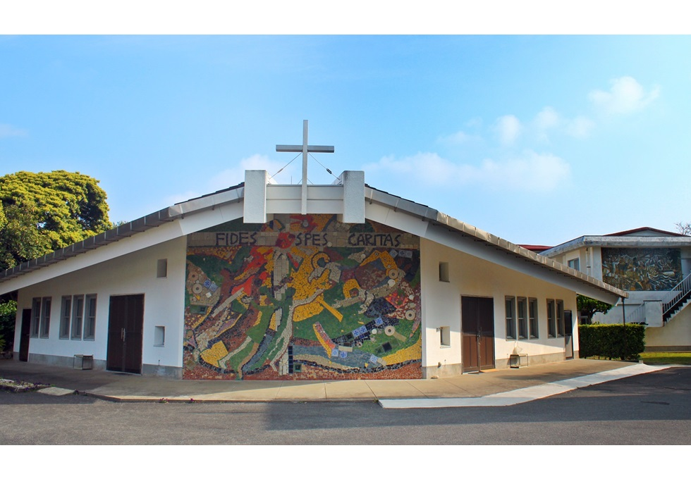 三井楽教会堂